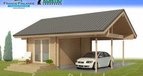 DELPHINIUM CARPORT – 42,2 m²